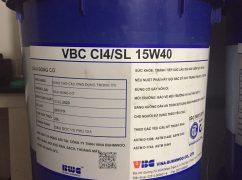 Dầu động cơ VBC CI4-SL 15W40